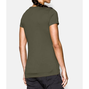 Under Armour 1246790 Tech Tactical Women's Short Sleeve Shirt