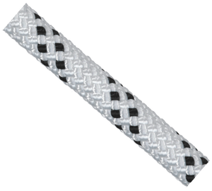 Yates 1290 ProTac 1/2 Static Rope White/Black - 200m