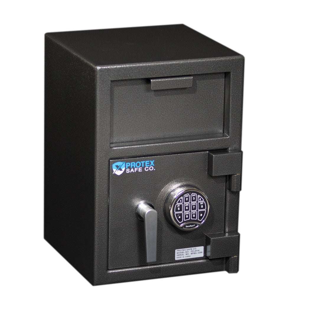 Protex Safe  FD-2014 Medium Front Loading Depository Safe - Security Pro USA