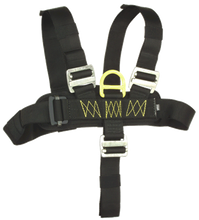 425 Yates Full Body Chest Harness - Black