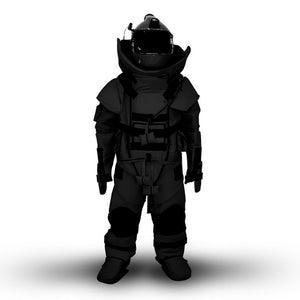 SecPro Advanced EOD Suit - Black