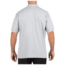 5.11 Tactical 71182 Men Tactical Jersey Short Sleeve Polo Heather Gray