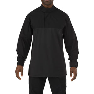 5.11 Tactical 72071 Men Stryke TDU Rapid Long Sleeve Shirt Black Reguler - Small