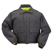 5.11 Tactical 48095 Men Reversible High-Visibility Duty Jacket Black