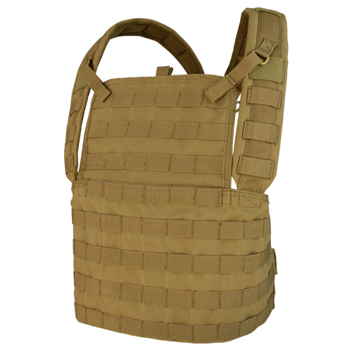 Condor MCR1 Modular Chest Rig-Coyote Brown