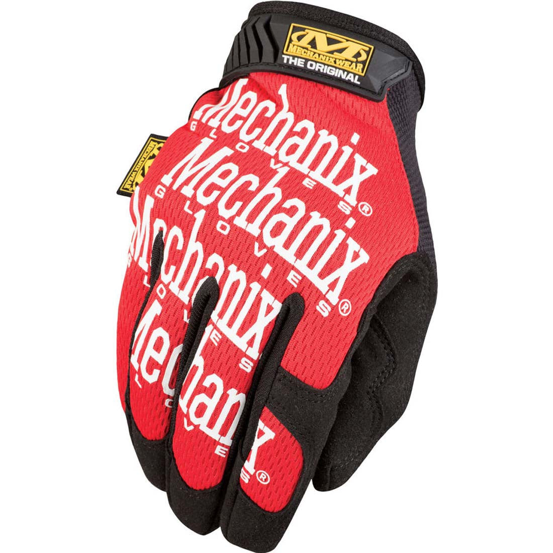 Mechanix Wear MG-02-008 Red The Original Work Gloves - Small