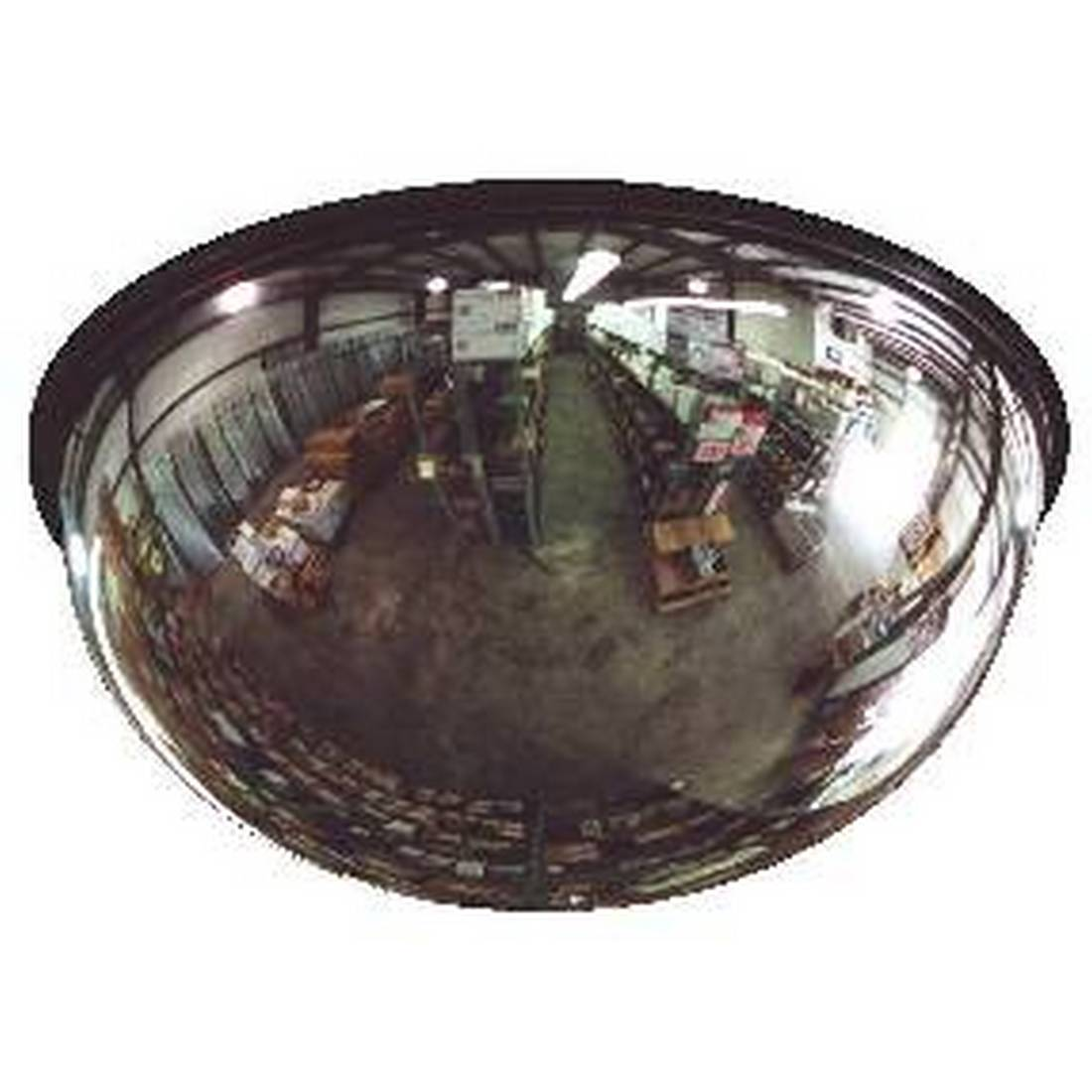 Brossard  360 Degree full view Dome Mirrors - Acrylic Lens / Galvanized Back