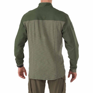 5.11 Tactical 72415 Men Rapid Quarter Zip TDU Green