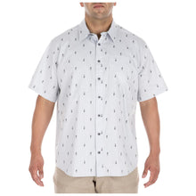 5.11 Tactical 71357 Men Five-o Covert Shirt Pearl
