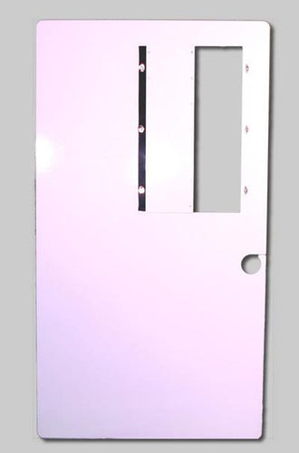 Hardwire Bulletproof Peel-N-Stick Door Armor - Level IIIA