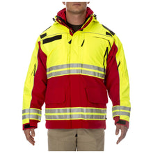 5.11 Tactical 48073 Men Responder High-Visibility Parka Range Red