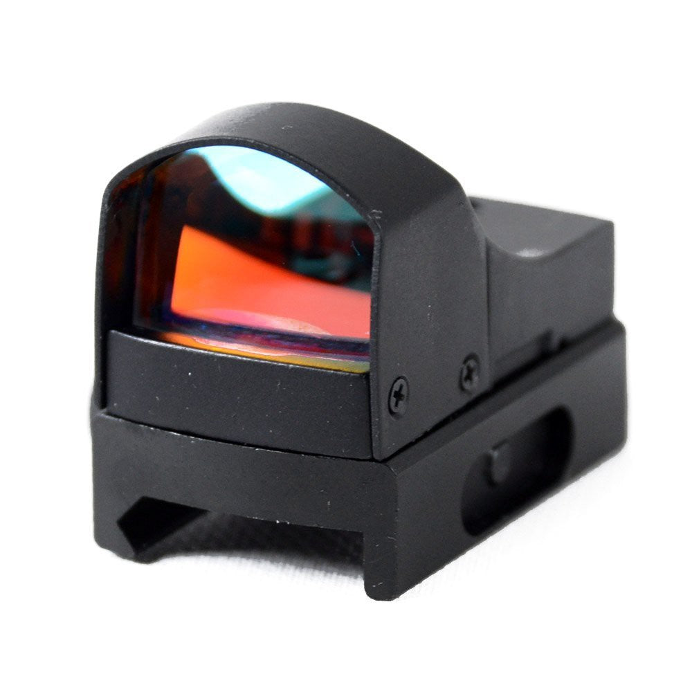Rebel Tactical Mini Red Dot Sight Rifle Weaver/ Picatinny Mount