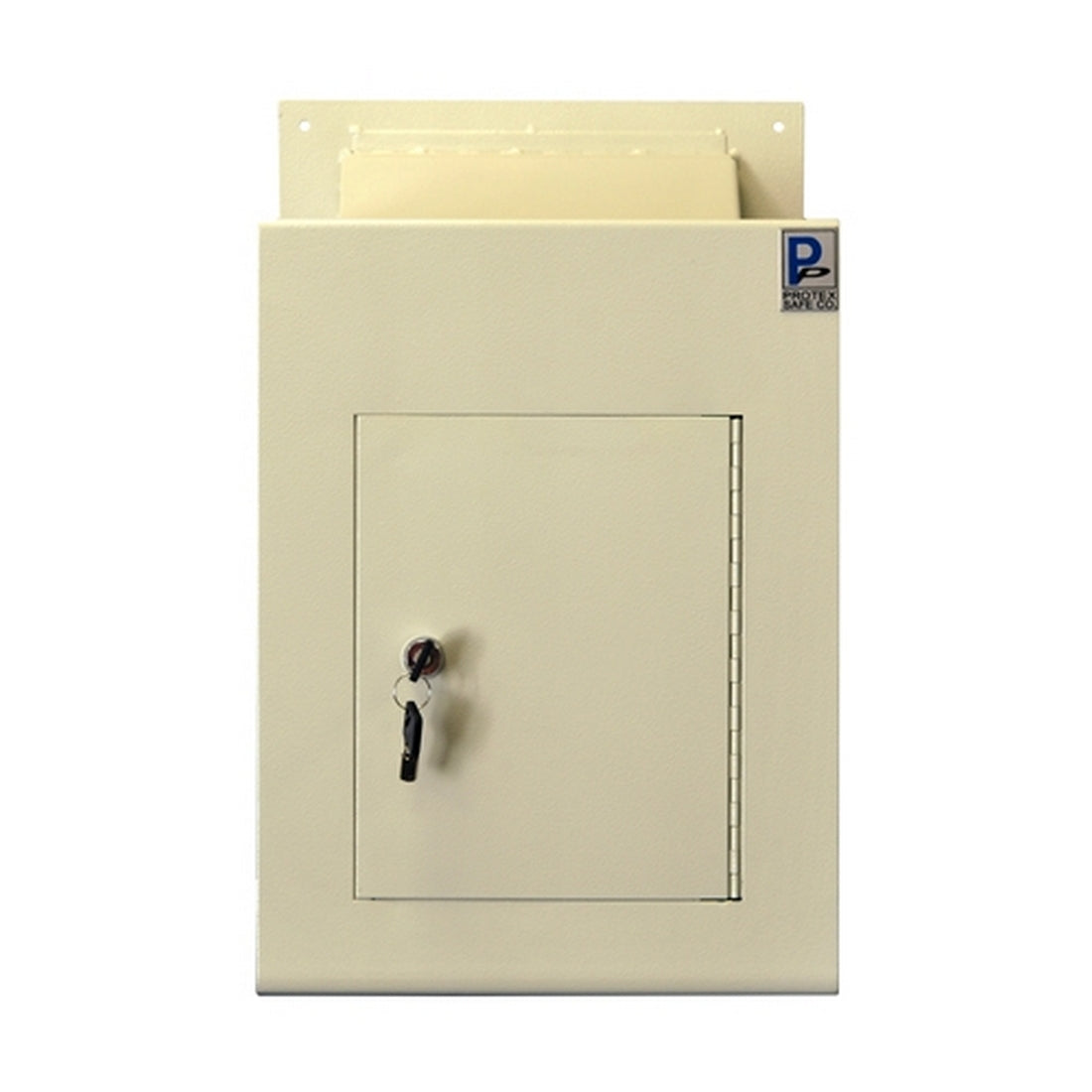 Protex Safe WDC-160 Protex Wall Drop Box w/ Adjustable Chute
