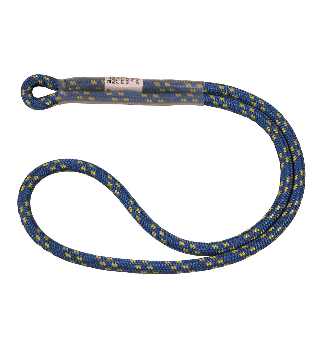 Bluewater Sewn Prusik Blue Loop - 8MM