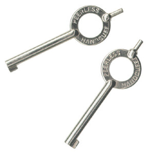 Peerless STDKY Key - Standard - Nickel