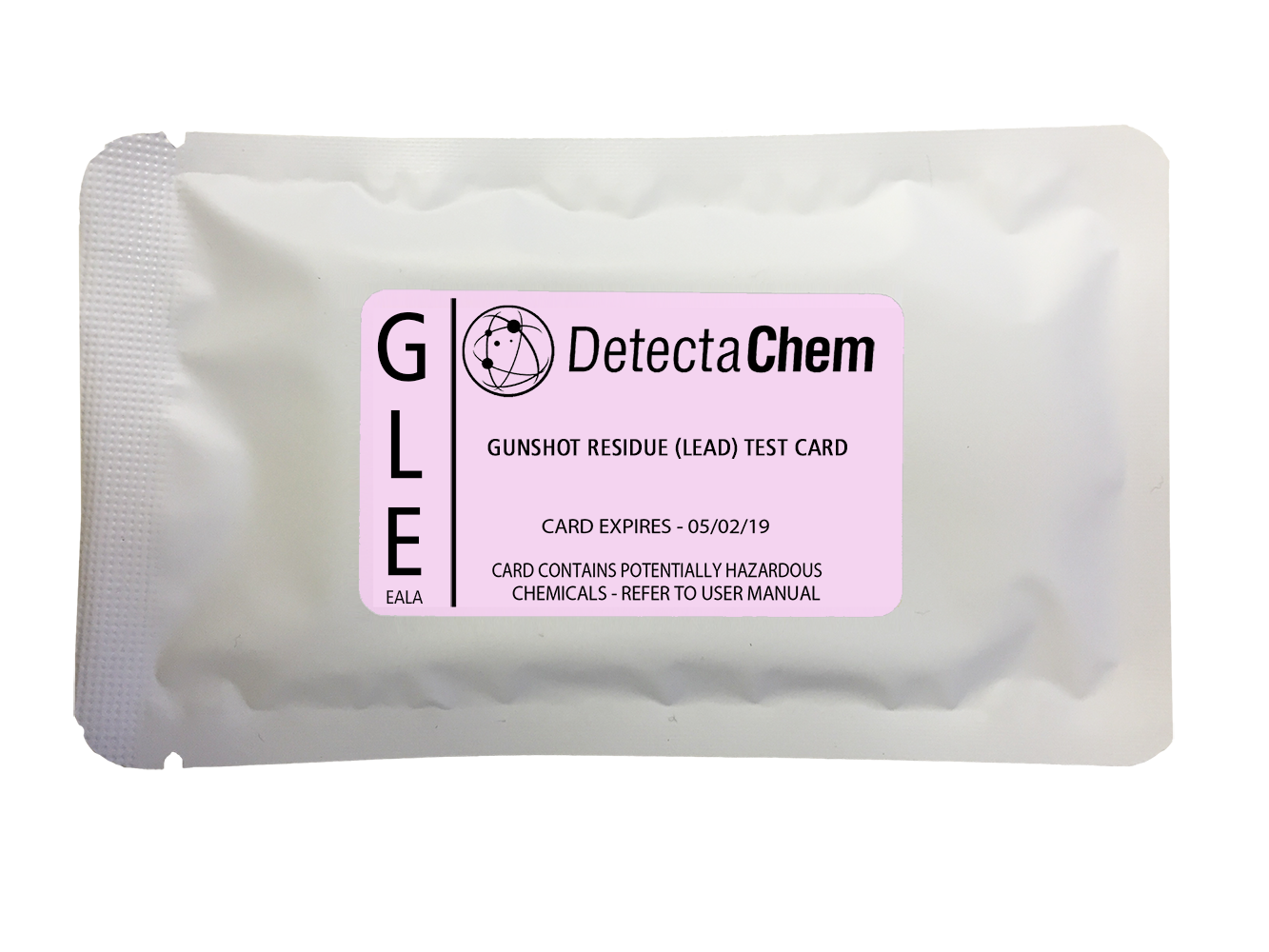 DetectaChem GSR Lead Detection Card (Box of 100)