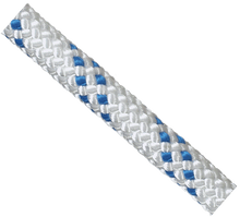 Yates 1420 NFPA 1/2 inch Safeline White/Blue Rope - 200