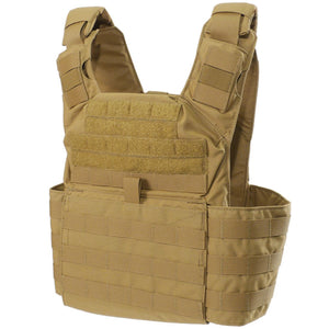 Shellback Tactical Banshee Rifle Plate Carrier - Coyote - Front