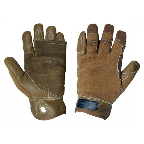 Yates 925T Tactical Rappel / Fast Rope Gloves Coyote Tan