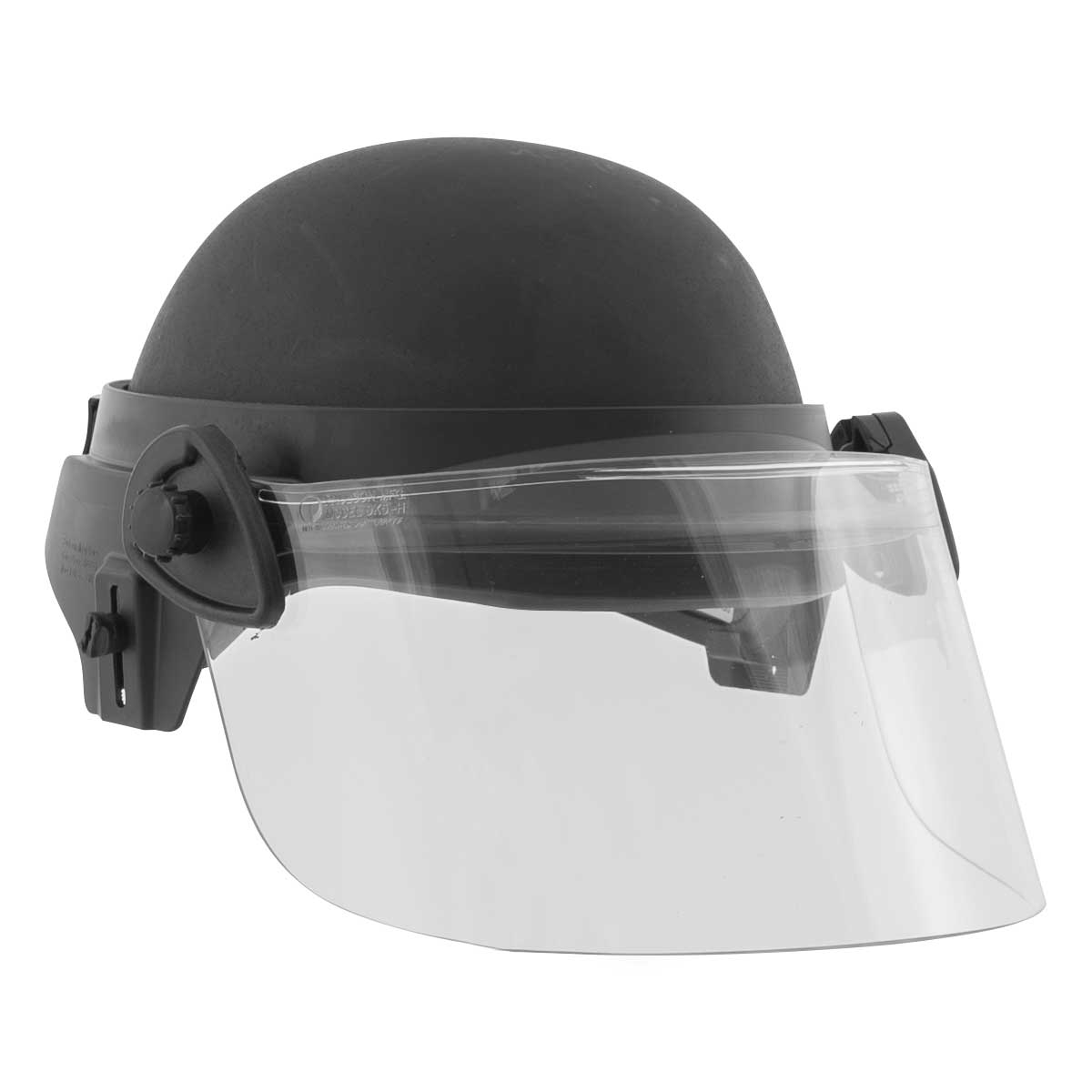 SecPro PASGT Level IIIA ACH Ballistic Helmet with Riot Face Shield