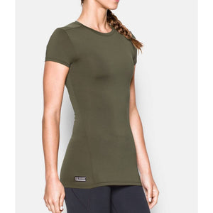 Under Armour 1235253 Tactical HeatGear Compression Women's Tactical Short Sleeve Shirt