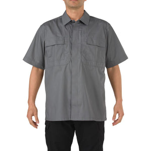 5.11 Tactical 71339 Men Taclite TDU Short Sleeve Shirt Storm