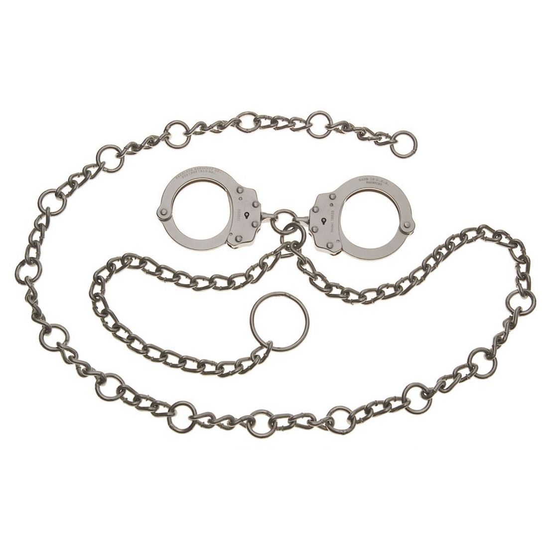 Peerless 7003C Waist Chain - Handcuffs at Navel