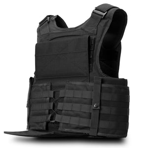 SecPro Gladiator Tactical Vest Level IIIA - Black (Cummerbund)
