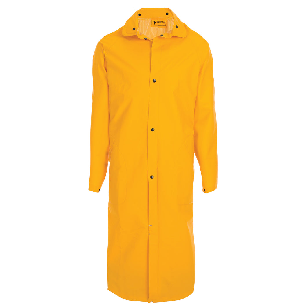 Yellow Security Raincoat