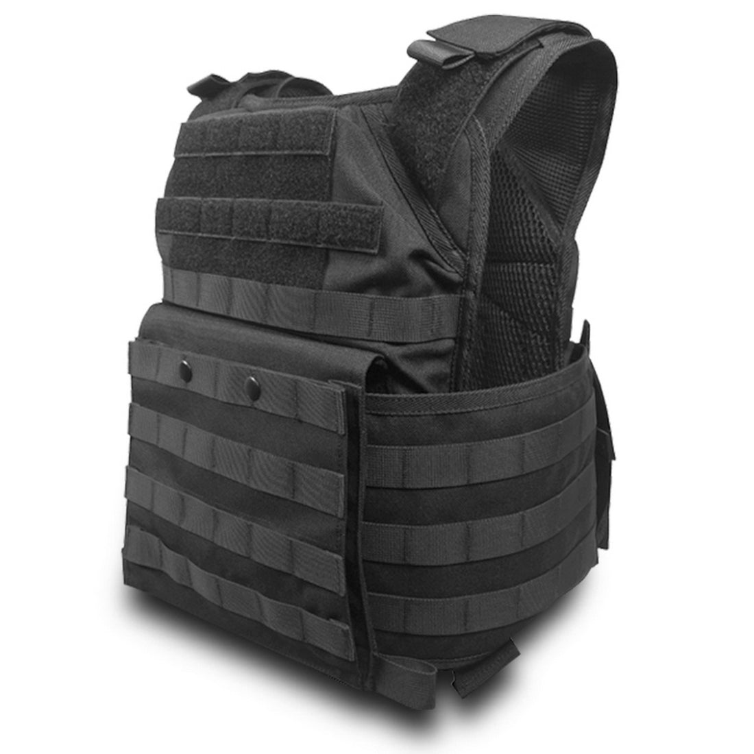 SecPro Spartan Tactical Plate Carrier - Black