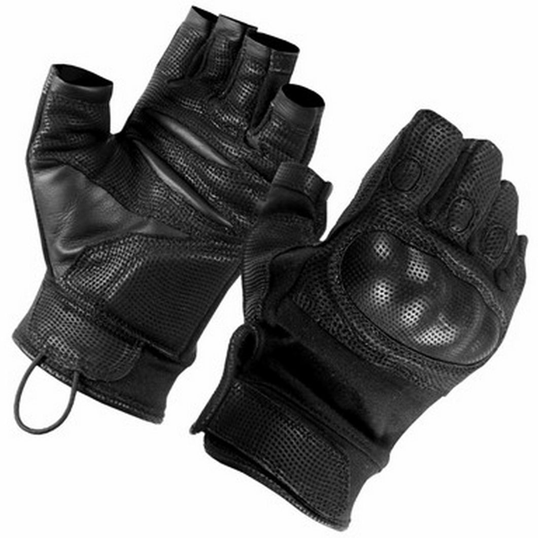 SecPro Warrior Touch Hard Knuckle Leather Gloves