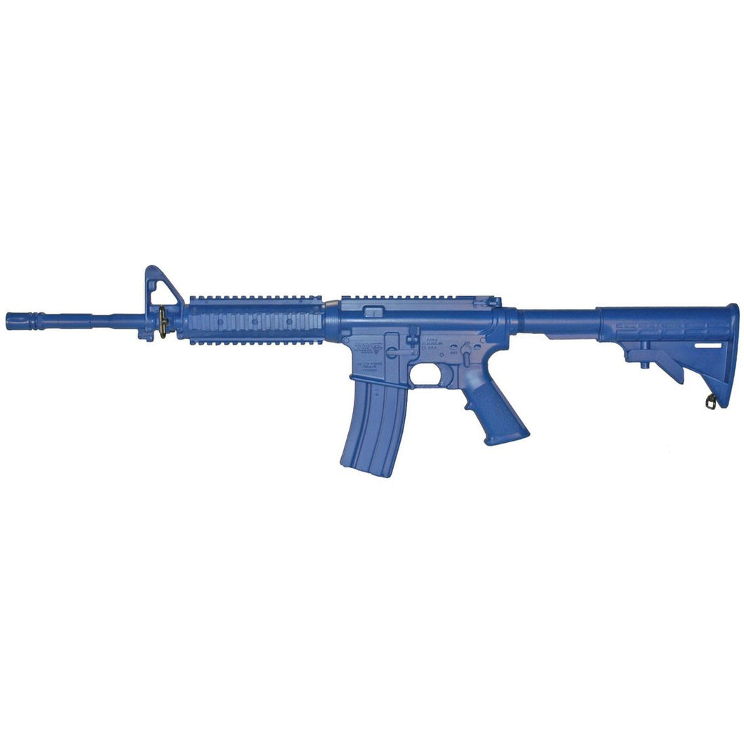 Blueguns FSM4FTR14 M4 Flat Top Open Stock, Fwd Rail, 14