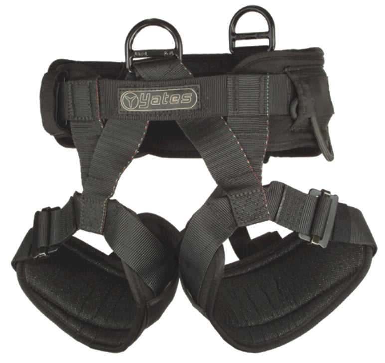 Yates 308A Padded Lightweight Assault Harness