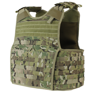 Condor 201147-008 Enforcer Releaseable Plate Carrier -MultiCam