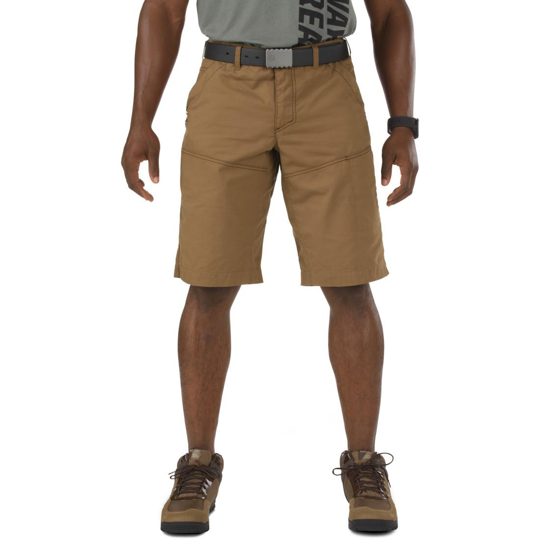 5.11 Tactical 73322 Men Switchback Short Battle Brown
