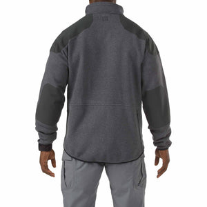 5.11 Tactical 72407 Men Tactical Full Zip Sweater Gun Powder