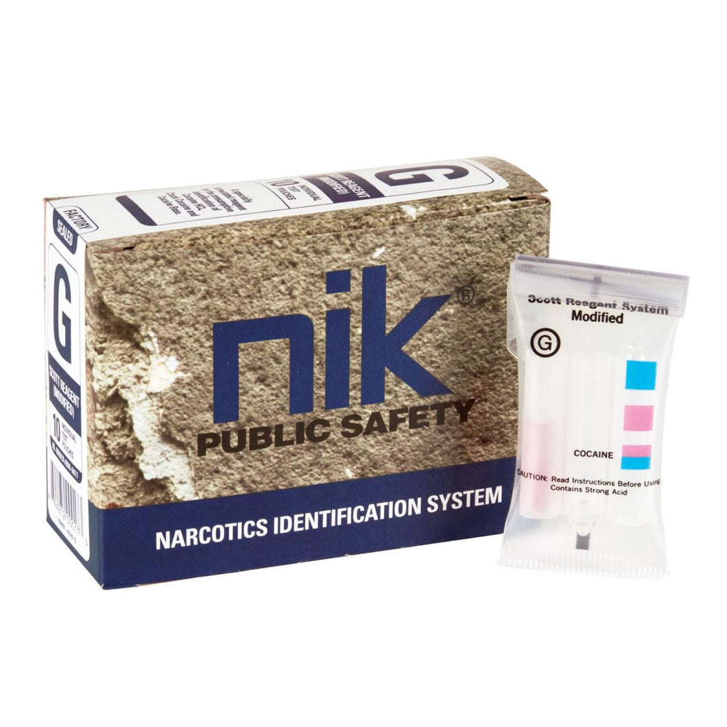 NIK 1006155 Test G-Cocaine, Crack & Free Base Drug Test