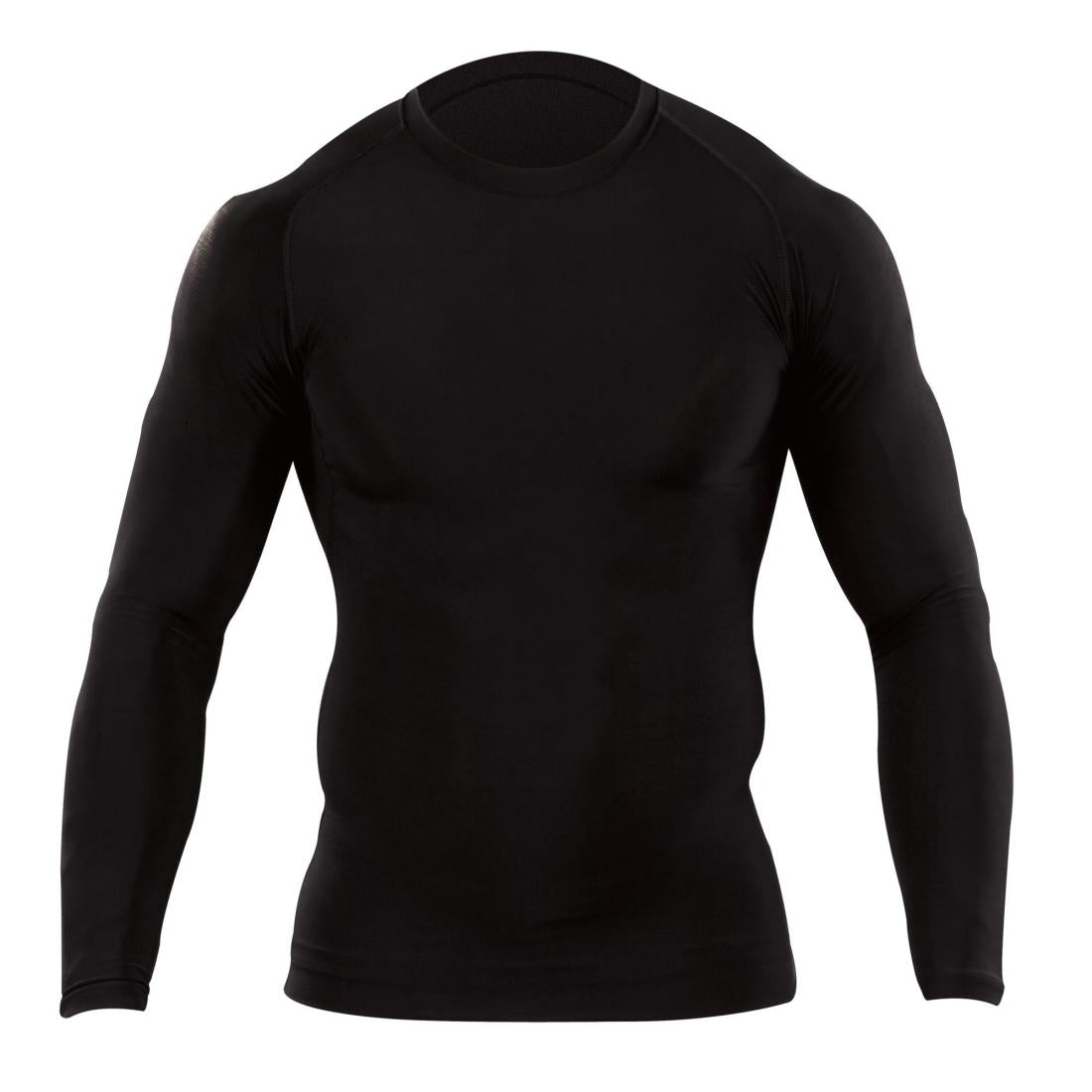 5.11 Tactical 40006 Men Tight Crew Shirt - Long Sleeve Black