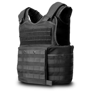 SecPro Ultimate Gladiator's Bundle Bulletproof Vest Tactical Ballistics - Black