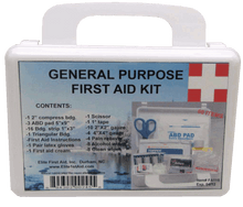 Elite First Aid FA115 - General Purpose First Aid Kit - White