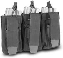 SecPro Double Staked Triple M4 & 9mm Mag Pouch