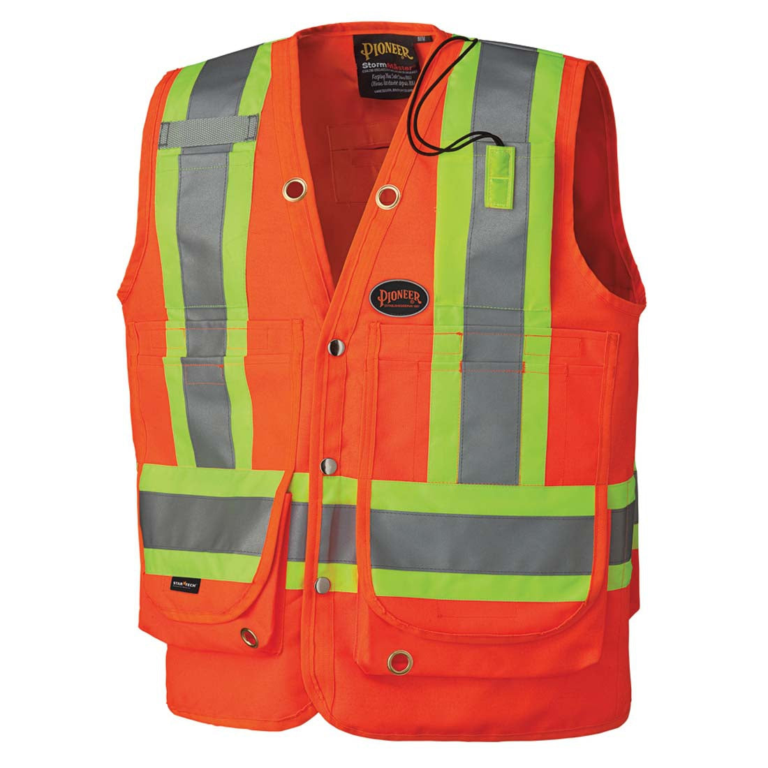 Pioneer Hi-Viz Surveyor's Safety Vest