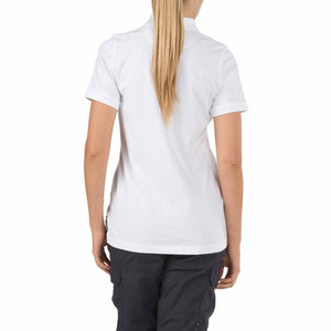5.11 Tactical 61164 Women's Tactical Jersey Short Sleeve Polo White