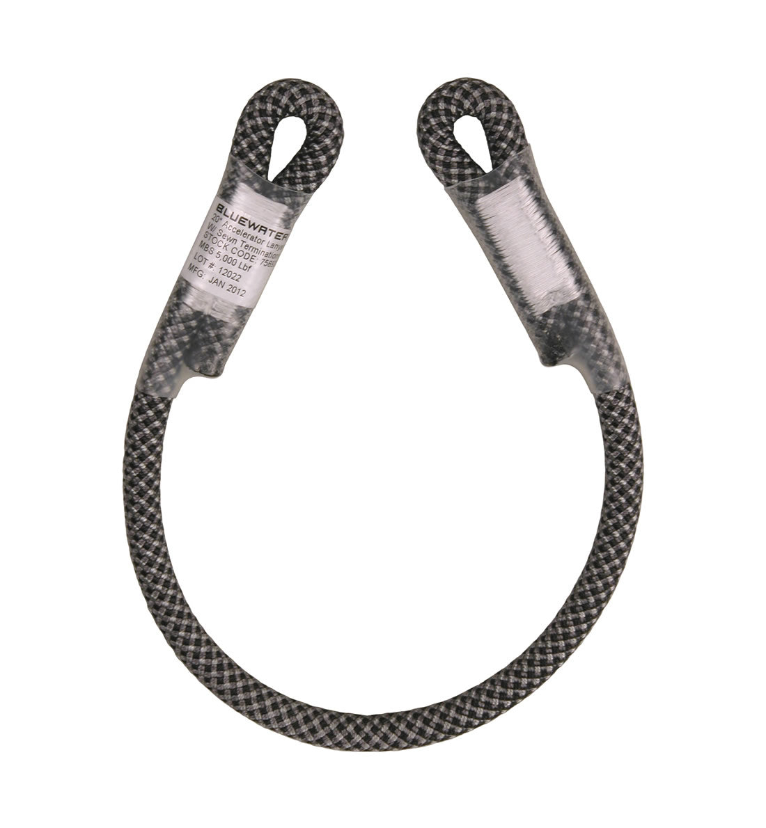 Bluewater 10.5MM Decelerator Dynamic Lanyard