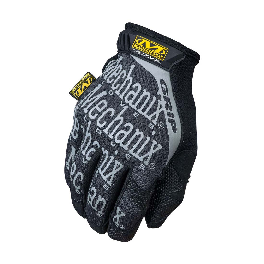 Mechanix Wear MGG-05-008 Black/ Grey The Original Grip Gloves - Small