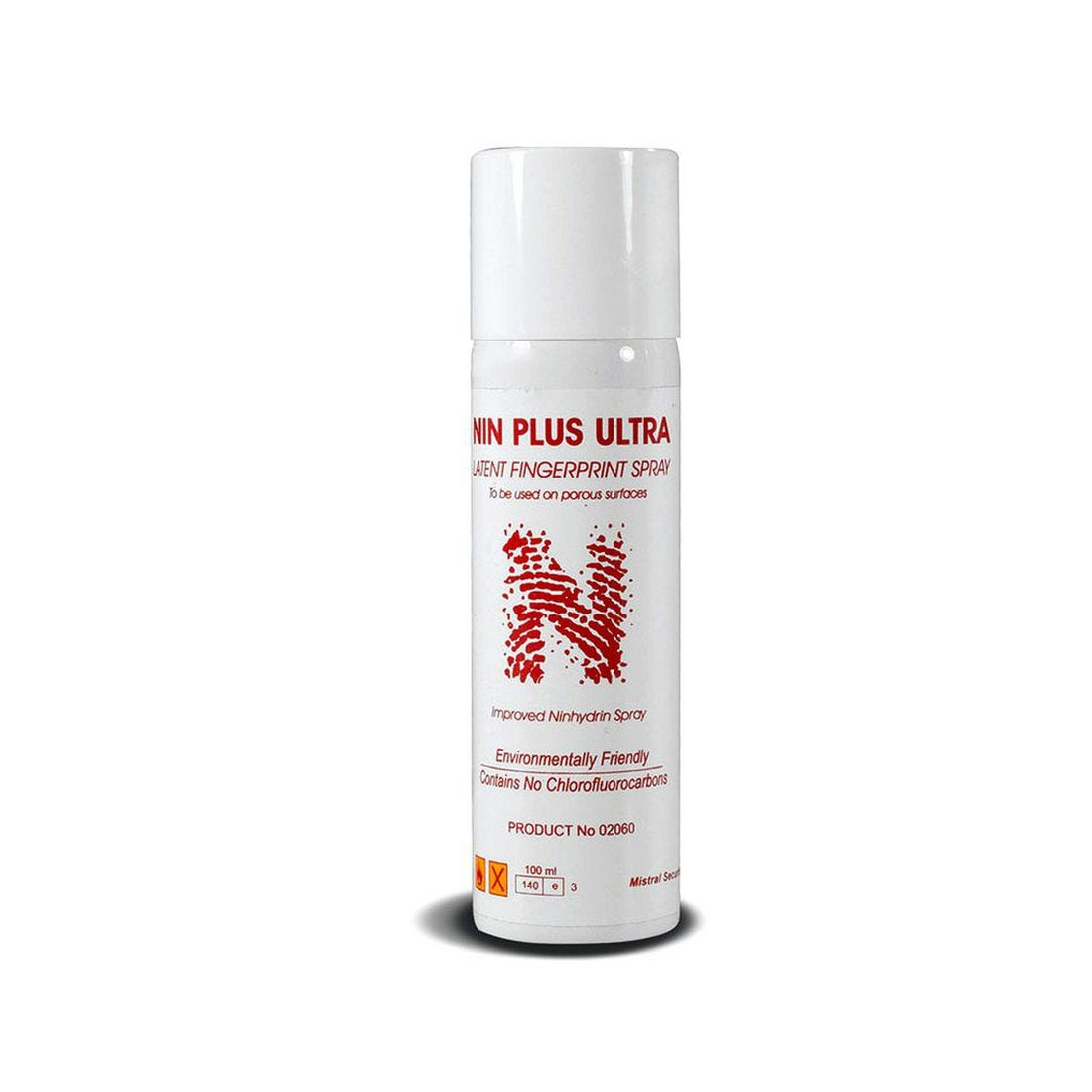 Mistral 02066 Nin Plus Ultra (200 cc) Fingerprints Detection Forensic Aerosol