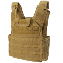 Shellback Tactical Banshee Plate Carrier - Coyote Tan - Rear