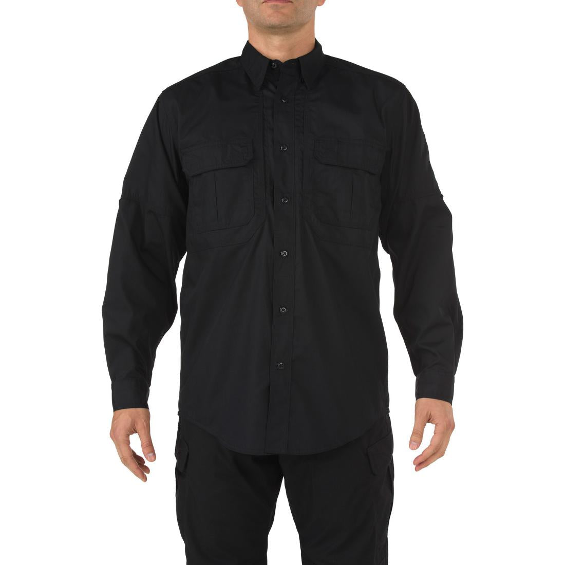 5.11 Tactical 72175 Men Taclite Pro Long Sleeve Shirt Black