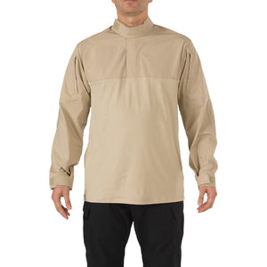 5.11 Tactical 72071 Men Stryke TDU Rapid Long Sleeve Shirt TDU Khaki Reguler - Small