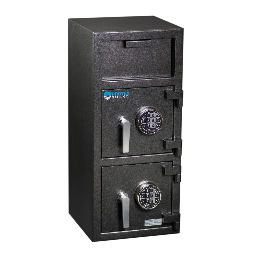 Protex Safe FDD-3214 Dual Door Depository Safe - Security Pro USA